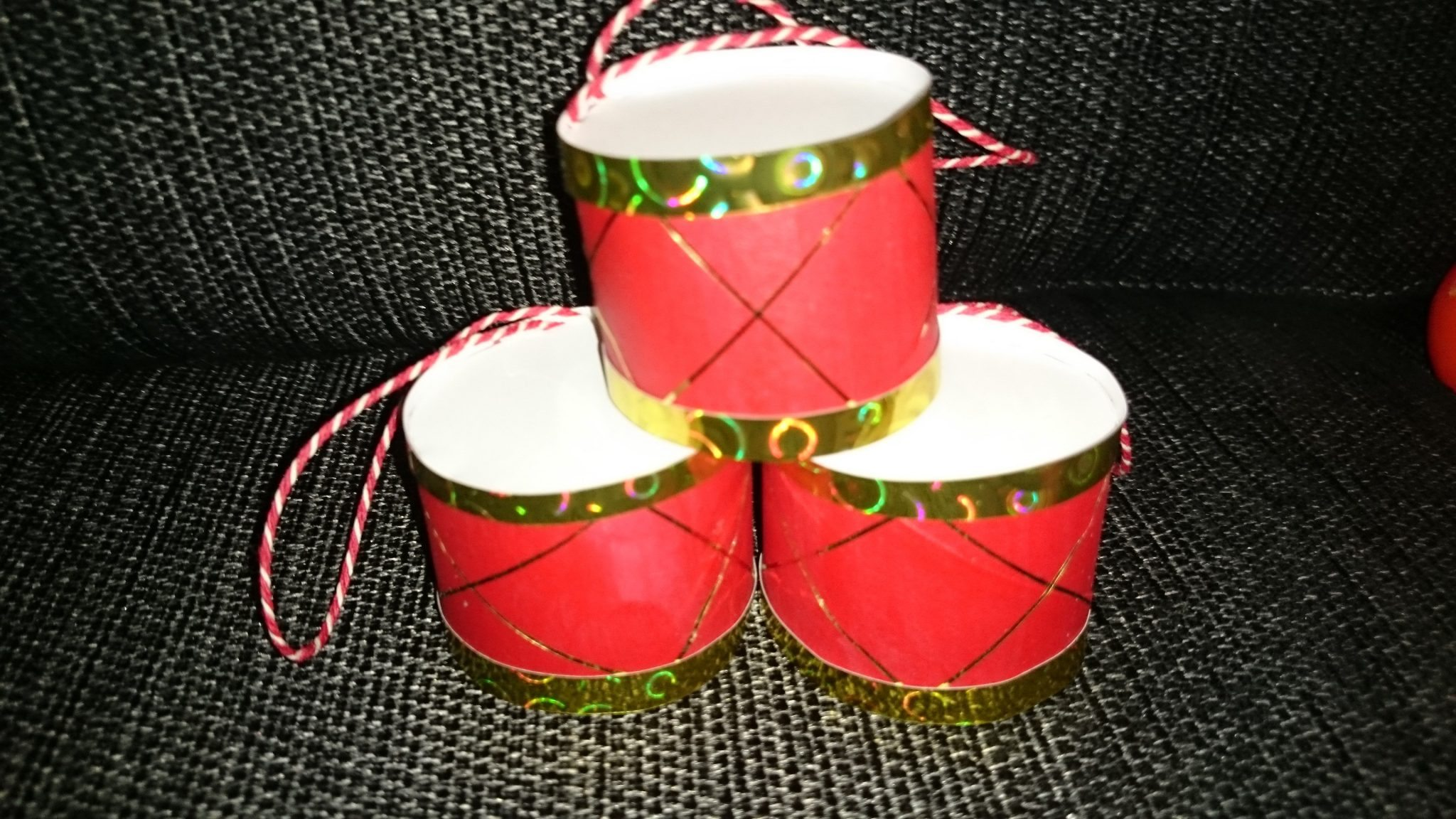 Hjemmelavede juletrommer