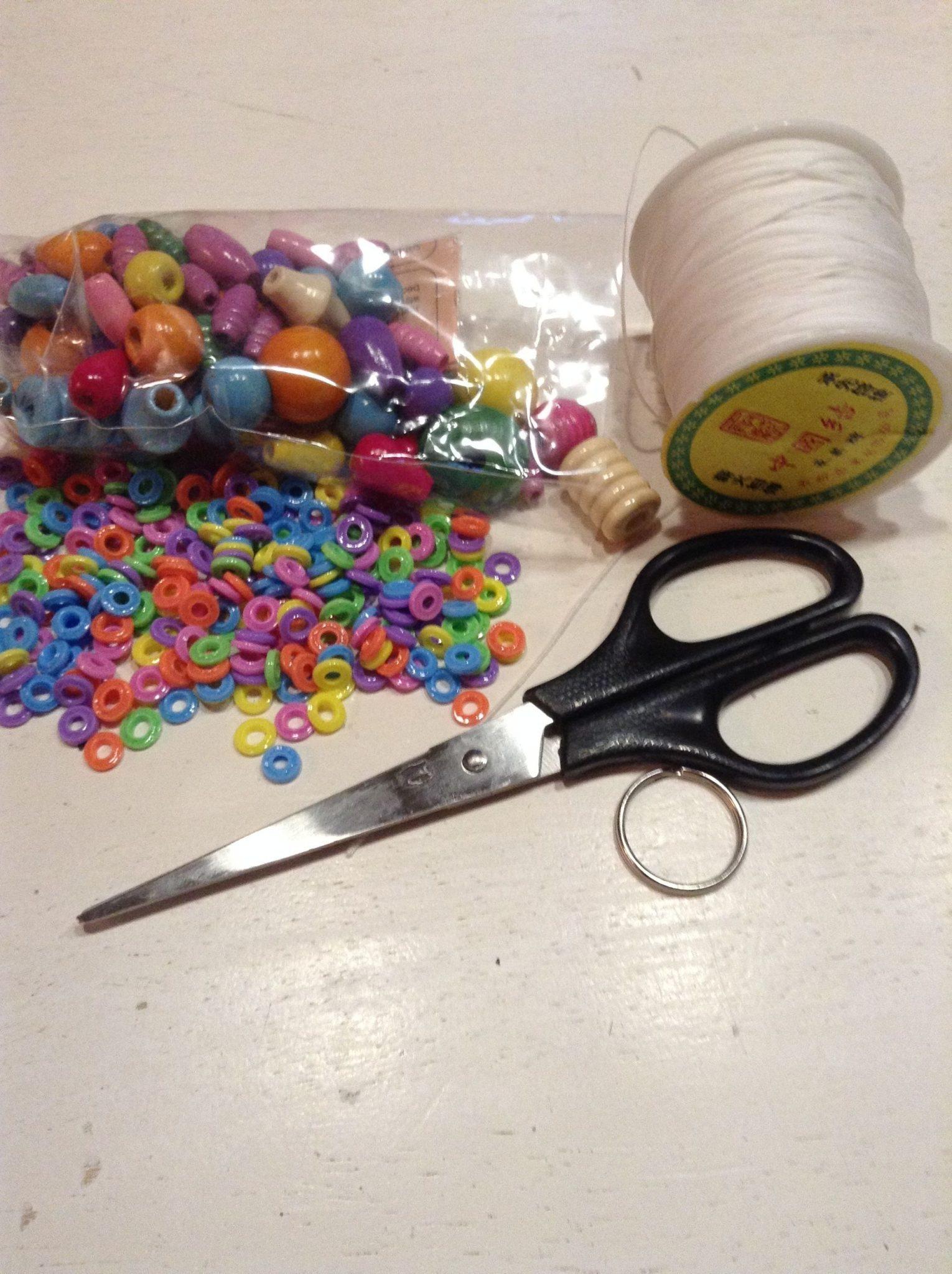 Nøglering Smeltede Perler Materialer