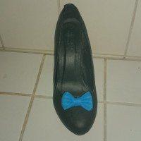 sløjfe sko clips