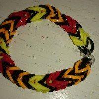 Hjemmelavede elastik armbånd