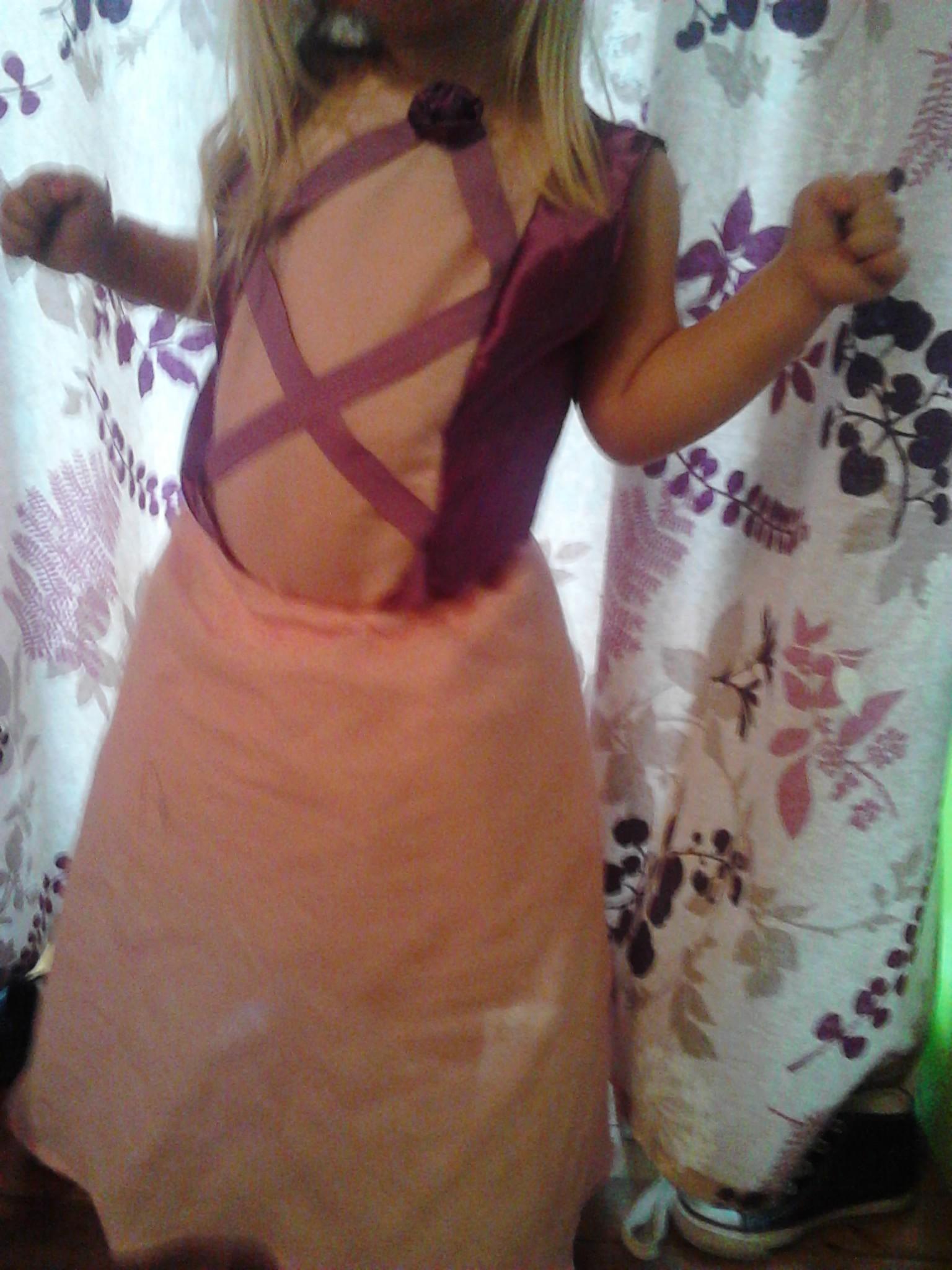 Hjemmelavet prinsessekjole