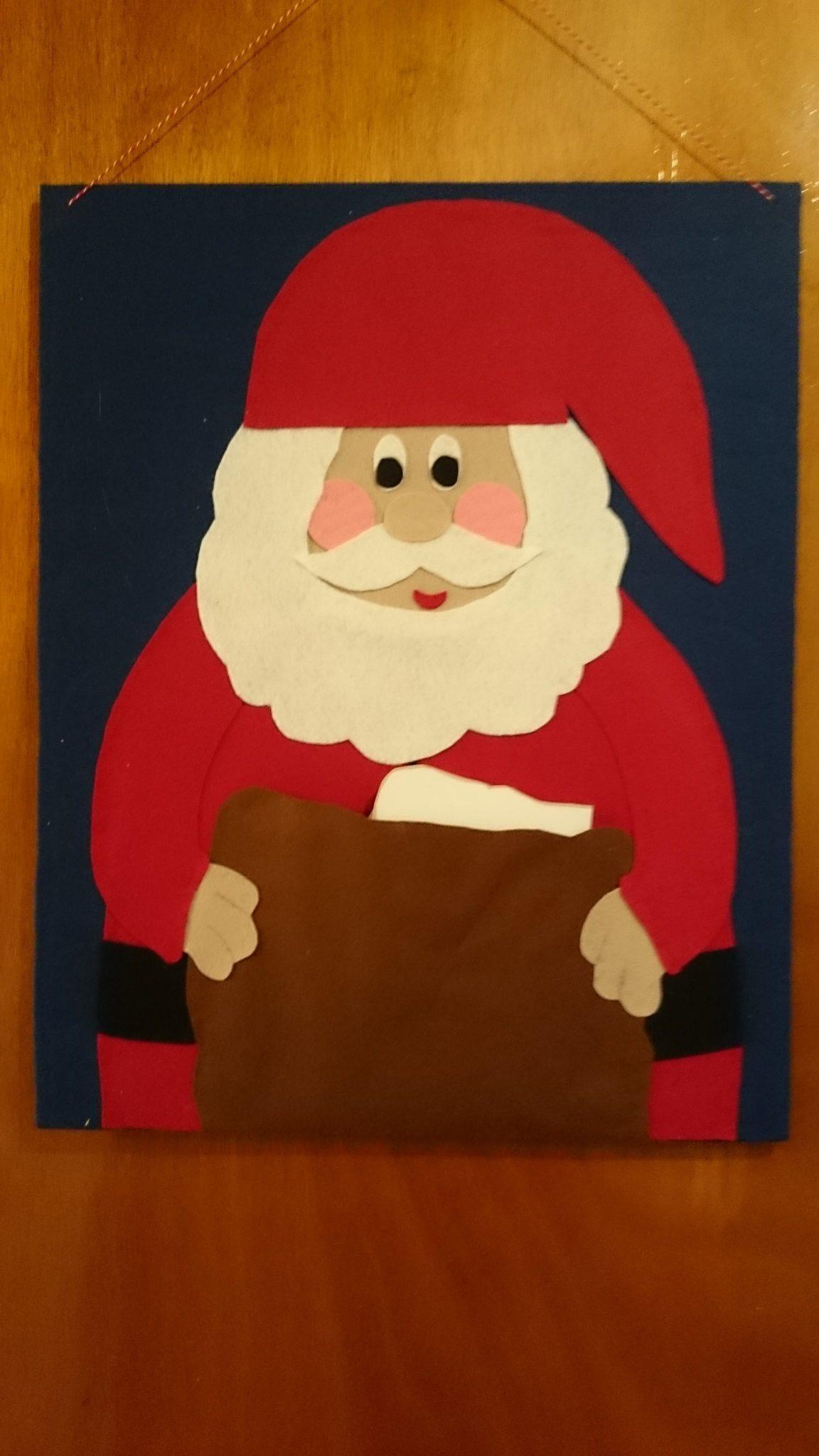 Hjemmelavet Julepostholder